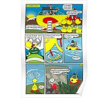 """Rick the chick  """"THE MAGIC SHELL (La partenza) parte 32"""" Poster"""