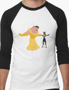 Beasty and the Beaut Men's Baseball ¾ T-Shirt