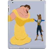 Beasty and the Beaut iPad Case/Skin