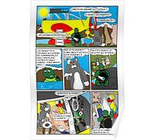 """Rick the chick  """"THE MAGIC SHELL (Il pesce palla) parte 29"""" Poster"""