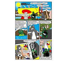 """Rick the chick  """"THE MAGIC SHELL (Il pesce palla) parte 29"""" Photographic Print"""