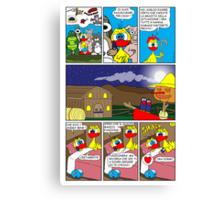 "Rick the chick  ""THE MAGIC SHELL (tutti a nanna) parte 31"" Canvas Print"