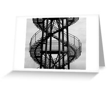 The DNA Tower Greeting Card