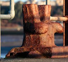 Maryport Pier Mooring Bollard by Jan Fialkowski