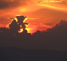 Sky on fire by stephangus