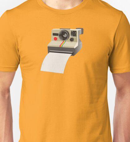 Retro Instant Camera Unisex T-Shirt