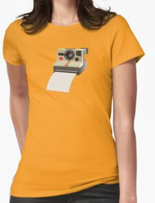 Retro Instant Camera Womens Fitted T-Shirt