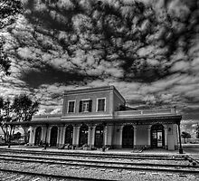 at the haunted station house by Ronsho