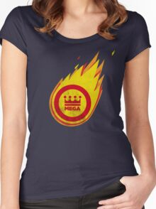 The Fantastic Fireball Women's Fitted Scoop T-Shirt