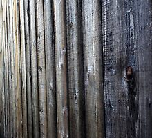 Wooden Slat Wall by BonnieToll
