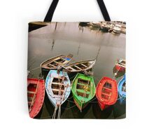 Colours in the Harbour Tote Bag