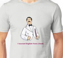 """Manuel """"I learned English..."""" Unisex T-Shirt"""