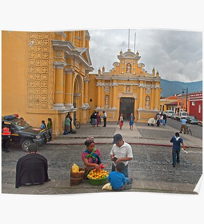 Iglesia de Hermano Pedro. Poster