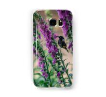 Honeyeater on Pink Samsung Galaxy Case/Skin