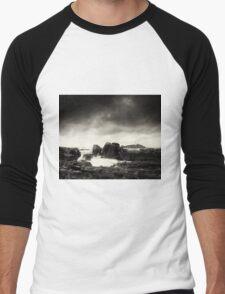 Godrevy Point Men's Baseball ¾ T-Shirt
