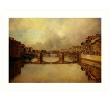 Once Upon A Time In Florence Art Print