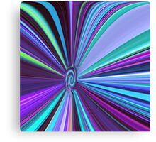 Down The Psychedelic Whirlpool Canvas Print