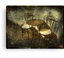 Coffe Time  II Canvas Print