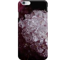 Frozen raspberry iPhone Case/Skin