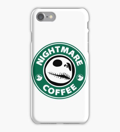 Nightmare Before Coffee - Jack iPhone Case/Skin