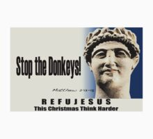 Stop The Donkeys! RefuJesus by morepraxis