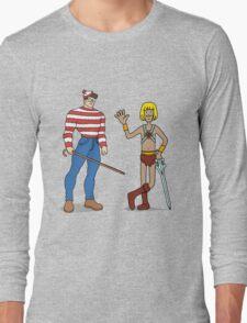 Where's Wal-Man? Long Sleeve T-Shirt