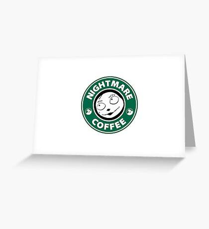 Nightmare Before Coffee - Sally Greeting Card