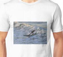 Surfing, North Yorkshire Style, Saltburn on Sea, England Unisex T-Shirt