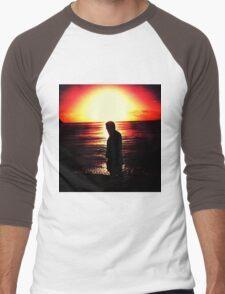 Deep Reflection Men's Baseball ¾ T-Shirt