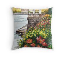 Bellagio on Lake Como Throw Pillow
