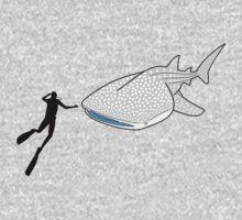 Whale Shark One Piece - Long Sleeve