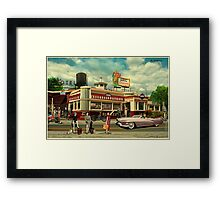 The Hitchhikers Framed Print