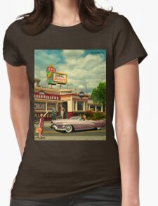 The Hitchhikers Womens Fitted T-Shirt