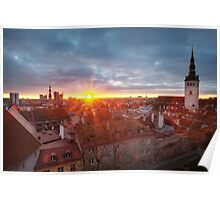 Tallinn Old Town Poster