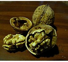 Walnut in Stages....after the fall Photographic Print