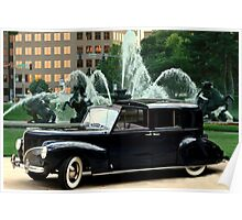 Henry Ford's 1941 Lincoln Continental Limousine Poster