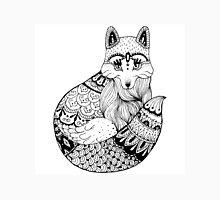 Zentangle fox portrait. Unisex T-Shirt