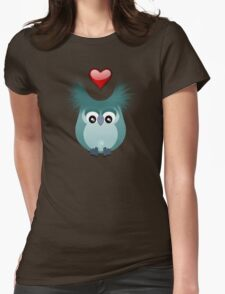 OWL LOVE Womens Fitted T-Shirt