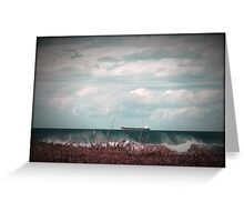 Sea Scape Thirroul Greeting Card