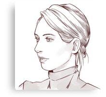 Elizabeth Holmes of Theranos Canvas Print