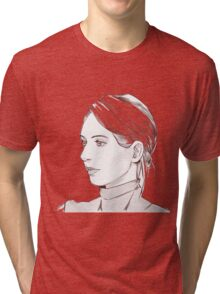 Elizabeth Holmes of Theranos Tri-blend T-Shirt