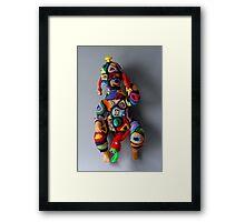 Muzzled doll  Framed Print
