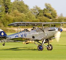 Hawker Hind at Shuttleworth by Barry Culling