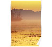 Stony Creek Dawn Poster