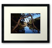Leven River Reflections Framed Print