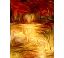 Abstract Colors Oil Painting #11 Photographic Print