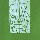 Amity Slockee's 'Green Christmas Tree' by Art 4 ME