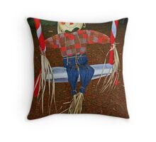 Andy Swings Throw Pillow