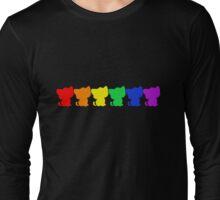 Rainbow BeBe Kitty! Long Sleeve T-Shirt