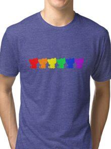 Rainbow BeBe Kitty! Tri-blend T-Shirt